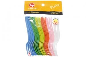 Bộ 24 cái nĩa mini nhựa Hofaco HPB46