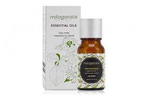 Tinh dầu sả chanh Milaganics Essential 10ml