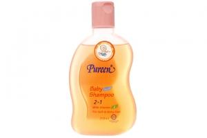 Dầu gội Pureen 2 in 1 vitamin E 250ml tặng khăn ướt 30m