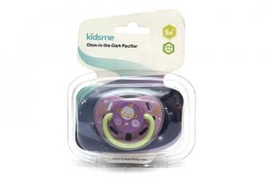 Ty ngậm dạ quang Kidsme 160117LA-L tím size L cho bé từ 9 tháng