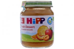 Dinh dưỡng đóng lọ HiPP Hoa quả tráng miệng lọ 125g