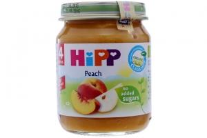 Dinh dưỡng đóng lọ HiPP Đào tây lọ 125g