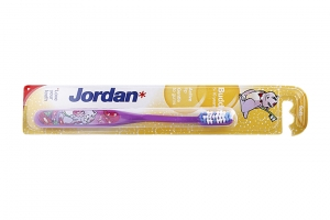 Bàn chải đánh răng Jordan Buddy cho bé 5-10 tuổi