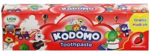 Kem đánh răng Kodomo cho bé hương Dâu 45g