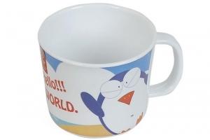 Ly có quai họa tiết chim cánh cụt Superware CV 392-3 220ml
