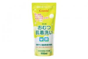 Túi dung dịch giặt xả quần áo Combi TE từ dầu cọ 500ml