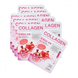 Bộ 10 gói Mặt nạ chống lão hóa Dabo Collagen Essence Mask Pack 23g