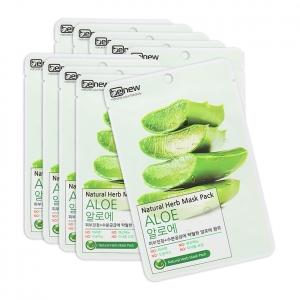 Bộ 10 miếng Mặt nạ lô hội Benew Natural Herb Mask Pack Aloe 22ml
