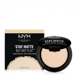 Phấn nền dạng nén NYX Professional Makeup Stay Matte But Not Flat Powder Foundation SMP01 Ivory