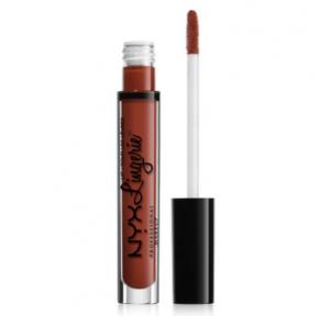 Son kem lì NYX Professional Makeup Lingerie Liquid Matte Lipstick #12 Exotic