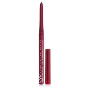 Kẻ viền môi chống nước NYX Professional Makeup Retractable Lip Liner #MPL16 Plum