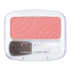 Phấn má Cezanne Natural Cheek N Matte màu 101 hồng cam