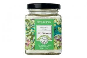 Bột đậu xanh Milaganics 100g-H02