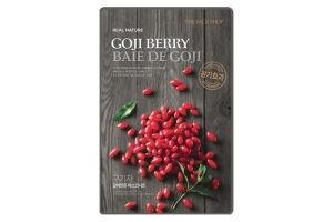 TFS Mặt nạ Kỷ Tử Real Nature Goji Berry Face Mask