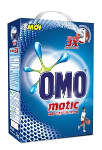 Bột giặt Omo Matic 6kg cửa trước