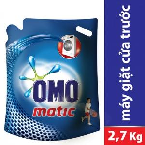 Nước giặt OMO Matic cho máy cửa trước (2.7kg)