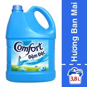 Nước Xả Vải Comfort 1 Lần Xả Hương Ban Mai Chai 3.8L