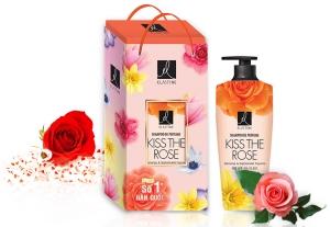 Hộp quà dầu gội Elastime hương nước hoa 600g