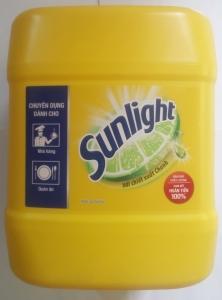 Nước rửa chén Sunlight chanh 9,5kg