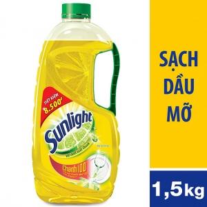 Nước rửa chén Sunlight Chanh 1.5kg