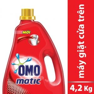 Nước giặt OMO cho máy giặt cửa trên (4.2kg)