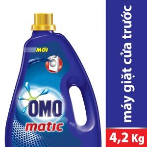 Nước giặt OMO cho máy giặt cửa trước (4.2kg)