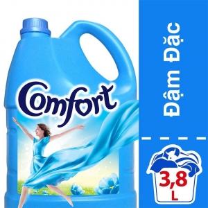 Nước xả vải Comfort đậm đặc hương ban mai 3,8L