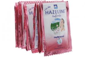 Sữa tắm Hazeline Pearly White 5g (10 gói)