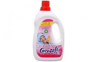 Nước Xả Vải Eurosoft Baby Hương Phấn Thơm 1 lít