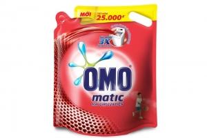 Nước giặt Omo Matic cửa trên túi 2,7kg