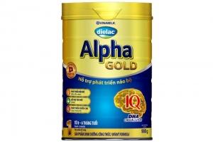 Sữa bột Dielac Alpha Gold 1 900g (dưới 6 tháng)