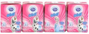 Sữa chua uống Fristi vị Dâu hộp 110ml (lốc 4 hộp)