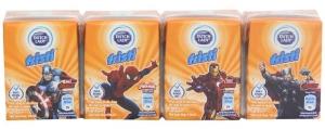 Sữa chua uống Fristi vị Cam hộp 110ml (lốc 4 hộp)