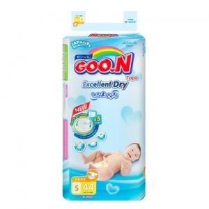 Tã dán Goon Renew Slim size S - 44 miếng (4-8 kg)