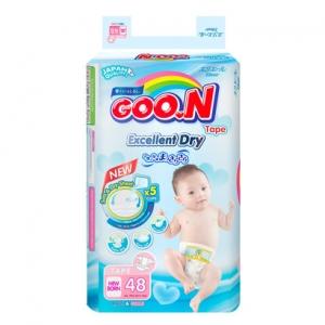 Tã dán Goon Renew Slim size NB - 48 miếng (bé dưới 5kg)
