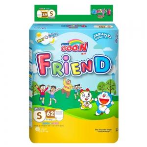 Tã quần GOO.N Friend size S - 62 miếng (4 - 8 kg)