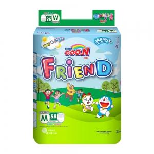 Tã quần GOO.N Friend size M - 58 miếng (7 - 12 kg)