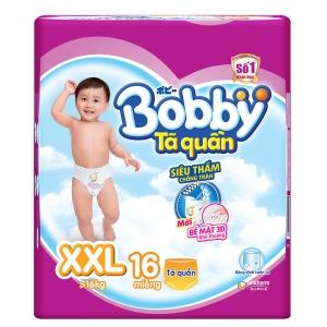 Tã quần Bobby size XXL - 16 miếng