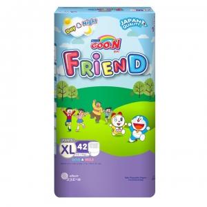 Tã quần GOO.N Friend size XL - 42 miếng (12 -17 kg)