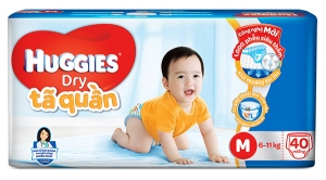 Tã quần Huggies size M - 40 miếng