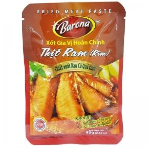 Sốt Gia Vị Hoàn Chỉnh Thịt Rim Barona - gói 80G