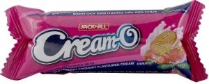 Bánh quy Cream-O nhân kem Dâu Sữa Chua thanh 54g
