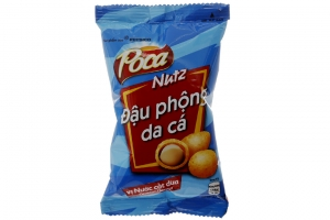 Đậu phộng da cá Poca Nutz vị Nước Cốt Dừa 45g