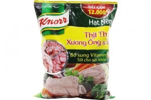 Hạt nêm Knorr Thịt thăn, xương ống và tuỷ gói 1.2kg
