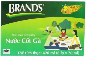 Nước cốt gà Brands lọ 70ml (hộp 6 lọ)