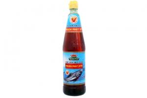 Nước mắm nhĩ cá cơm Thuận Phát 35 độ đạm 650ml