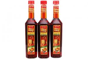 Combo 3 chai Nước mắm cá cơm Phan Thiết Thái Long Rồng Vàng Loại Ngon chai 500ml