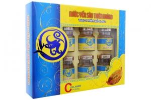 Nước yến sào Thiên Hoàng Collagen có đường 70ml (hộp 6 lọ)