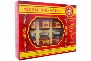 Nước yến sào Thiên Hoàng hương trái cây 70ml (hộp 6 lọ)