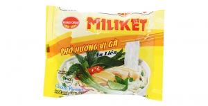 Phở ăn liền Miliket hương vị Gà gói 60g